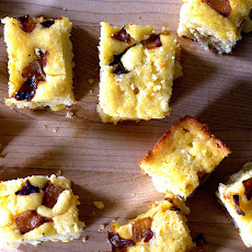 Caramelized Onion and Goat Cheese Cornbread