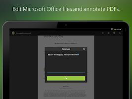 Screenshot of Citrix ShareFile for Tablets
