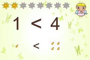 Screenshot of Zahlen lernen für Kinder