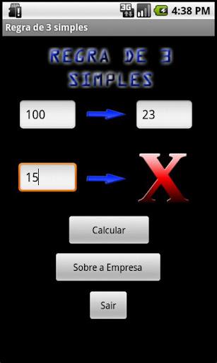 【免費工具App】Regra de 3 simples-APP點子