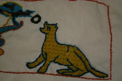 Besace d'après tapisserie de Bayeux SG1L9304