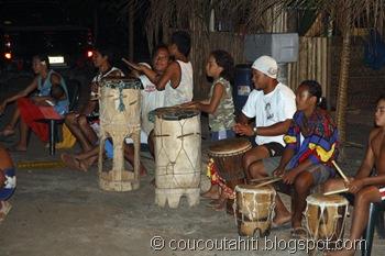 Les Pahu (tambours)