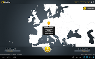 Screenshot of CyberGhost - Free VPN & Proxy