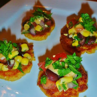 Mini Sweet Corn Tamale Cakes