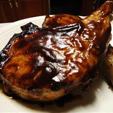 Honey Mustard BBQ Pork Chops