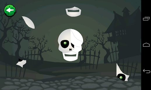 Halloween Shape Puzzle - screenshot