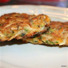 Feta Vegetable Cakes