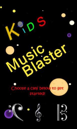 Kids Musical Note Blaster