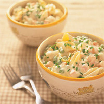 Rachs Crowd-Pleasing Carrots, Peas and Cheesy Pasta