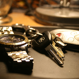 Watch and keys by Michael Phillips - Artistic Objects Jewelry