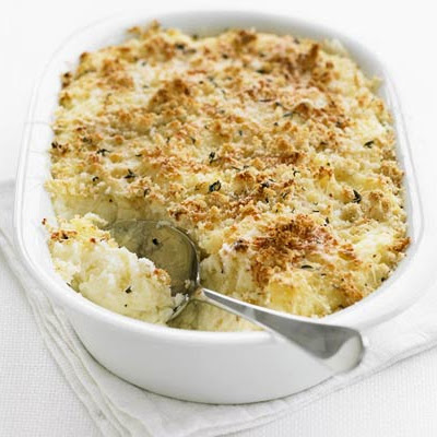 Garlic Mash Potato Bake
