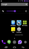 Screenshot of BetterKat CM11 Theme Purple