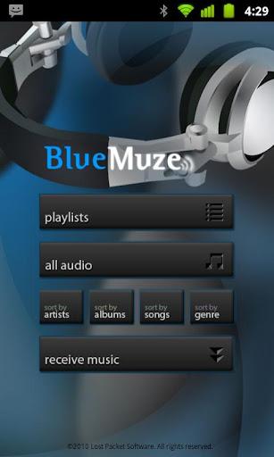 BlueMuze Trial