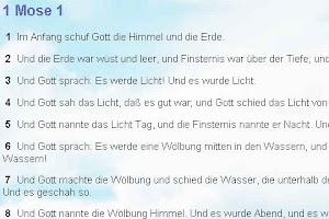 Screenshot of Bibel ElberFelder
