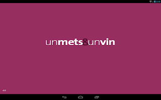Screenshot of un mets & un vin