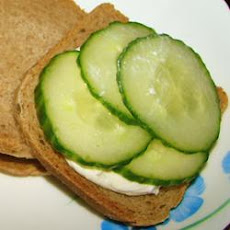 Party Cucumber Sandwiches