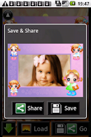 Screenshot of Kid Photo Frames
