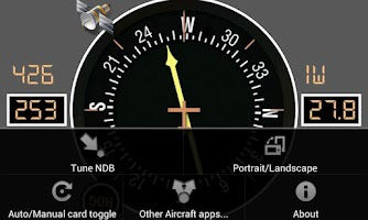 Screenshot of Aircraft ADF