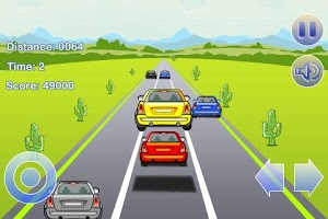 Screenshot of Stunt Racing Car