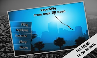 Screenshot of Rope'n'Fly 3 - Dusk Till Dawn