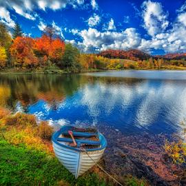 Mrzla Vodica lake by Stanislav Horacek - Landscapes Mountains & Hills