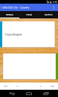 Screenshot of Flashcard Box