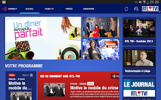 Screenshot of RTL TVI