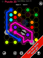 Screenshot of Hexic Link - Bend