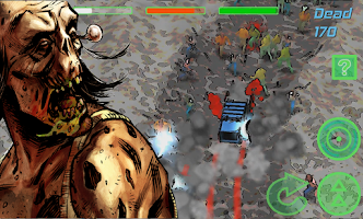 Screenshot of Zombie Rider: Run Smashing Car