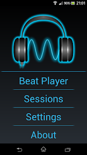Binaural Beat Builder Pro screenshot for Android