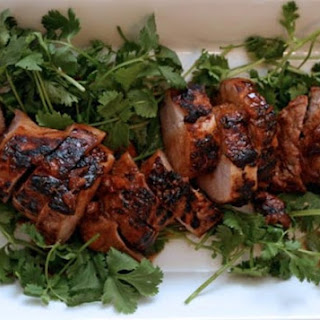 Soy-Marinated Grilled Pork Tenderloin
