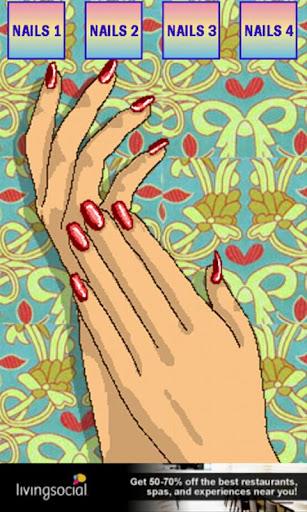 完美的指甲設計