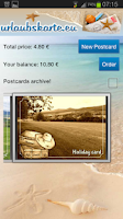 Screenshot of Urlaubskarte.eu