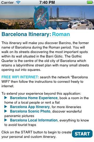 Barcelona Itinerary Roman