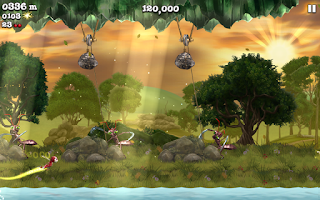 Screenshot of Firefly Runner