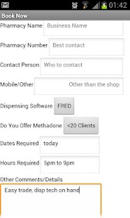 Pharmacy SOS Booking App - screenshot