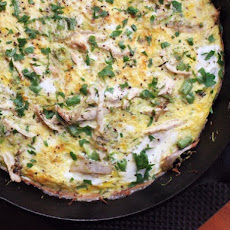 Leftover Turkey Frittata