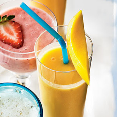 Peach-Mango Smoothie