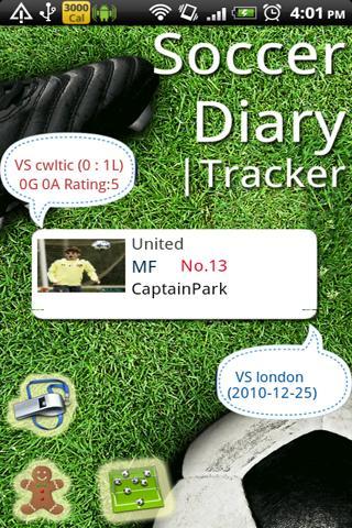 Soccer Diary
