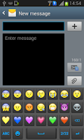 Screenshot of Emoji Sticker KeyBoard