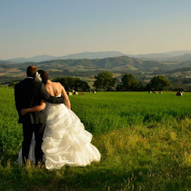 Looking at our future by Girolamo Florio - Wedding Bride & Groom ( Wedding, Weddings, Marriage )
