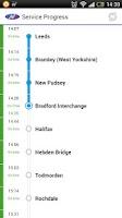 Screenshot of Northern Rail train tickets