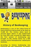 Screenshot of Beekeeping