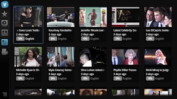 Screenshot of Viki for Google TV