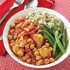 Curried Chicken and Chickpea Stew