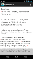Screenshot of CrossConnect Bible (Beta)