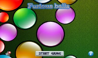 Screenshot of Furious balls