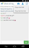 Screenshot of Chat với người lạ