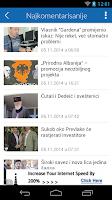 Screenshot of Vijesti