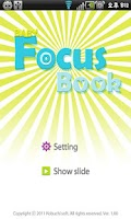 Screenshot of Baby Focus Book Free(Cot Book)